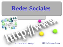 Redes Sociales - Mendoza Educa