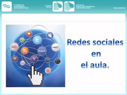Redes sociales en el aula.