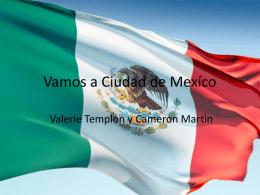 Vamos a Ciudad de Mexico