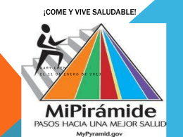¡Come y Vive Saludable!