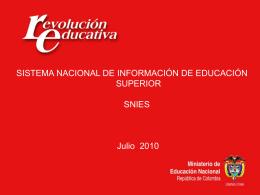 RCI. El papel de la Educación Superior