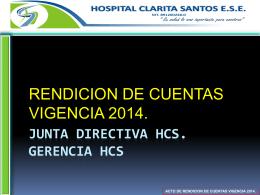 ¡¡¡¡nuevo!!!! - Hospital Clarita Santos ESE