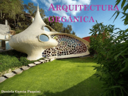 arquitectura orgánica