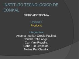 producto - mercadotecniaycomunicacioncorporativa