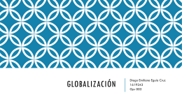 Globalización - WordPress.com