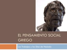 El Pensamiento Social Griego