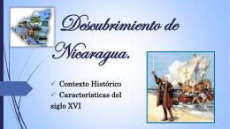 Descubrimiento de Nicaragua.
