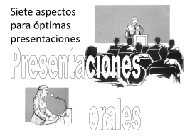 EXPRESION ORAL Y ALTO IMPACTO 2011