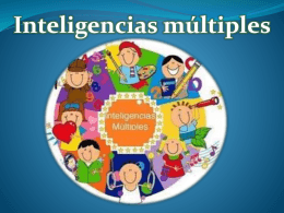 Presentacion Inteligencias Multiples