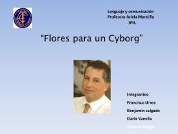 Flores para un Cyborg - cienciaficcionfleming