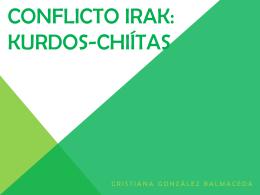Conflicto Irak: Kurdos-Chiítas