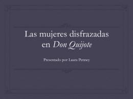 Presentación - SPAN 320: Don Quijote de la Mancha