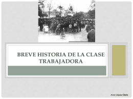 Historia de la clase trabajadora chilena