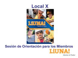 Local X