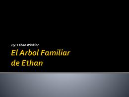 El Arbol Familiar de Ethan