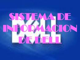 MANEJO DE LA INFORMACION DELL