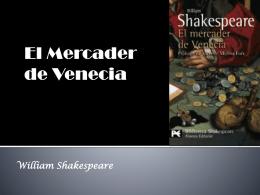 El Mercader de Venecia - El lector y el Quijote
