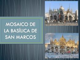 18 Mosaicos de la Iglesia de San Marcos de Venecia