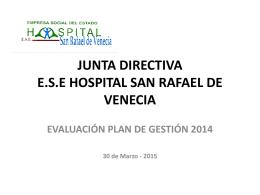 JUNTA DIRECTIVA E.S.E HOSPITAL SAN RAFAEL DE VENECIA