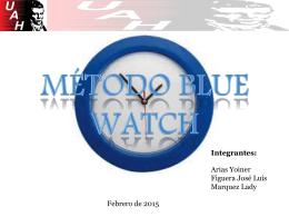 Presentación grupo 3: Blue Watch