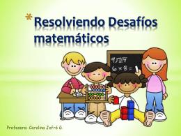 Resolviendo Desafíos matemáticos