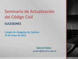 Leer más... - Colegio de Abogados de Quilmes