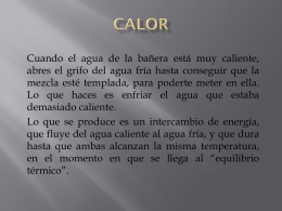 CALOR (diapositiva)