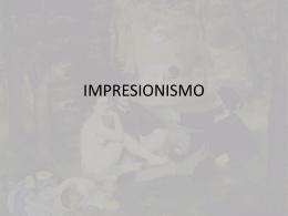 Impresión - Historia del Arte III