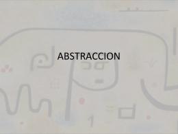 ABSTRACCION - Historia del Arte III