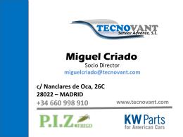 Miguel Criado