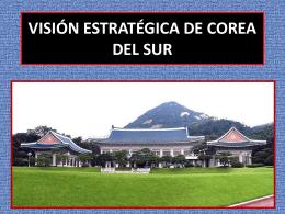 Visión Estratégica de Corea del Sur
