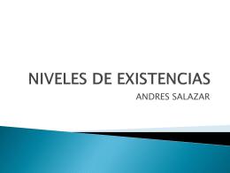 NIVELES DE EXISTENCIAS - Colegio Gimnasio del Norte