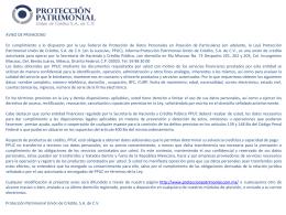 Presentación de PowerPoint - proteccion patrimonial union de credito