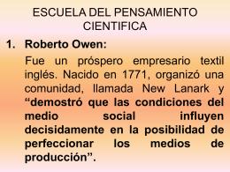 ESCUELA DEL PENSAMIENTO CIENTIFICA