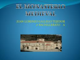El monasterio – Juan Lorenzo Gallego