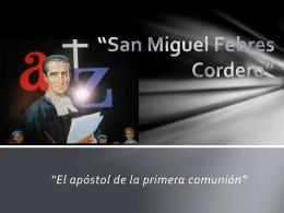 San Miguel Febres Cordero