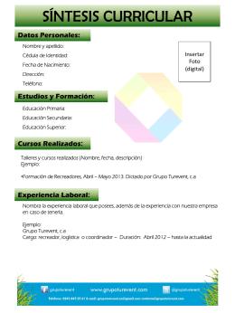 Diapositiva 1 - Grupo Turevent
