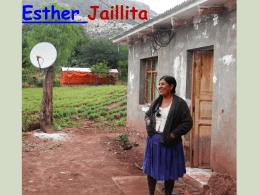 Presentación Esther Jaillita
