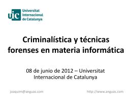 Diapositiva 1 - Joaquim Anguas