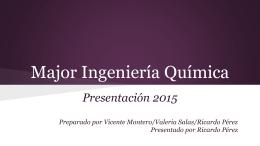 Presentacion Major Quimica 2015