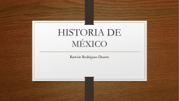 CLASE 2 INDEPENDENCIA DE MEXICO