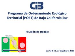 Presentación - Reunión Informativa - SPyDE BCS