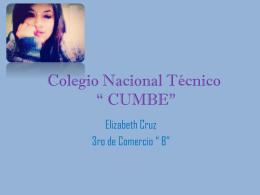 Colegio Nacional Técnico * CUMBE*