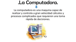 La Computadora - WordPress.com