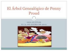 El Árbol Genealógico de Penny Proud