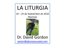 Diapositiva 1 - Iglesias Ecuador