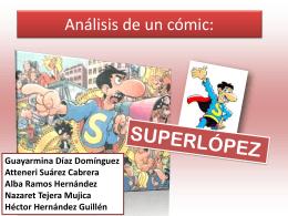 Análisis de un comic: