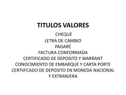 titulos+valor