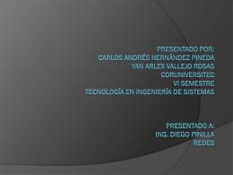 Presentado por: Carlos Andrés Hernández Pineda Yan Arlex Vallejo