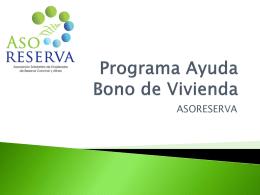 Programa Ayuda Bono de Vivienda